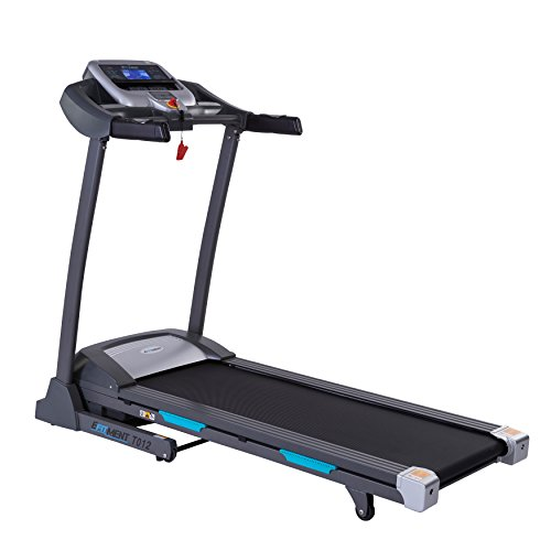 Auto Incline Bluetooth Motorized Treadmill w/ Speakers & Folding for Running & Walking by EFITMENT – T012 – DiZiSports Store