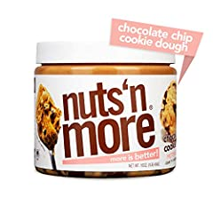 Nuts 'N More was developed by a fitness enthusiast who was looking to ditch the traditional bland protein sources in search of better tasting alternatives for getting more protein into their diet. Most nut butters can be chunky and hard, but ...