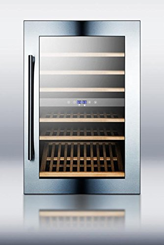 Summit VC60D Integrated Dual-Zone Wine Cellar, Glass by Summit (Image #2)