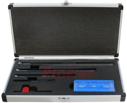 5//16-5//8 4 PC SCLCR Indexable Boring Bar Set Lathe Tooling CCMT Inserts