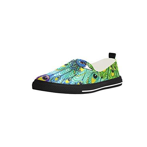 Sneaker Da Uomo In Microfibra Slip-on Personalizzata D-story