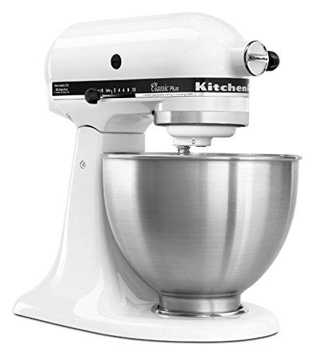 KitchenAid Classic Plus 4.5 Qt Stand Mixer White (Large Image)