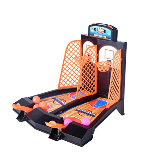 callm Basketball Shooting Game Desktop Table Reduce Stress Set Sports Toy for Kid and Adults (Multicolor) (Power 12 Basketball Pump Inch)