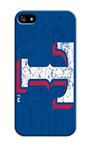 LarryToliver Forever Collectibles Customizable Baseball Texas Rangers Dual Hybrid iphone 5/5s Case