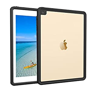 iPad Pro 9.7 / iPad Air 2 Waterproof case, AICase Water Resistant IP68 360 Degree All Round Protective Ultra Slim Thin Dust/Snow Proof with Lanyard