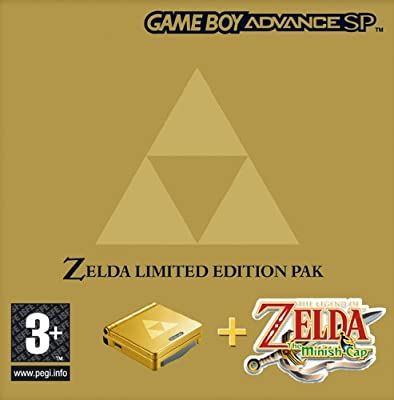 Amazon.com: Nintendo SP Zelda Minish Cap Hardware Bundle ...
