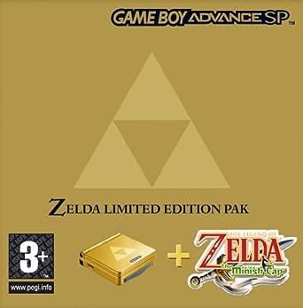 Nintendo SP Zelda Minish Cap Hardware Bundle (GBA): Amazon co uk: PC
