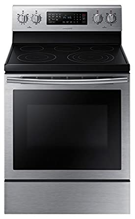 Samsung Appliance NE59J7630SS 30u0026quot; 5.9 Cu. Ft. Freestanding Electric  Range With 5 Smooth