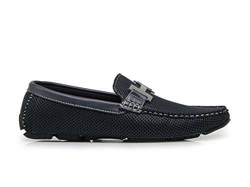Driving Payne04 Shoes Blue Men's Weight Navy Moccasins Enzo On Light Loafer Casual Slip Romeo xYq4BWw6Z