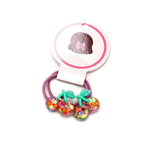 Hair Bows New children's fruit hair ring girl bright for sale  Delivered anywhere in USA