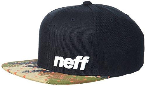 (NEFF Men's Daily Cap, Black/Camo Dot One Size)