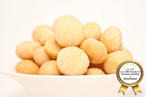Macadamia Nüsse, roh und naturbelassen - ohne Geschmacksverstärker