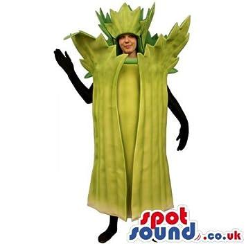 7e628a349579 Original Customizable Lettuce Or Leak SPOTSOUND US Mascot Costume Or Adult  Costume: Amazon.co.uk: Toys & Games