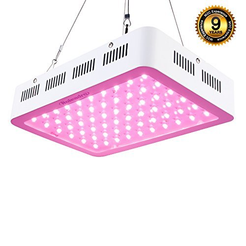 Roleadro LED Grow Light 300W Full Spectrum 5W Series Plant Light for Greenhouse Hydroponic Indoor Plants Veg and Flower