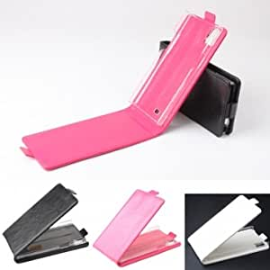 Flip PU Leather Protective Case For THL T100S T11 --- Color:Black