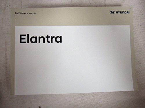2017 Hyundai Elantra Owners Manual Guidebook