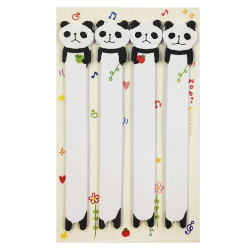 Wrapables Panda Bookmark Index Sticky