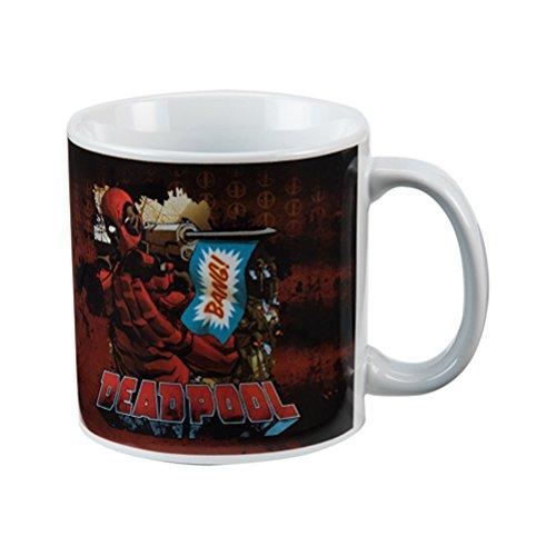 (Vandor 26361 Marvel Deadpool 20 Ounce Ceramic Mug, Multicolored)