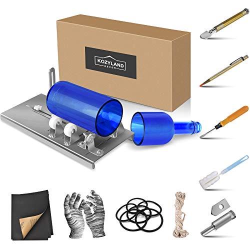 Bottle Cutter & Glass Cutter Kit, DIY Machine for Cutting Wine, Beer, Liquor…Any Glass or Ceramic Bottles, 19…