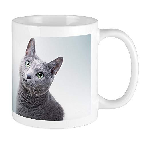 - CafePress Russian Blue Cat Mugs Unique Coffee Mug, Coffee Cup