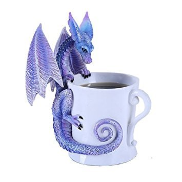 Mug Dragon - Pacific Giftware Amy Brown Purple Magical Dragon Tea Coffee Cup Whatcha Drinkin