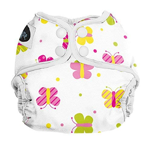 Imagine Baby Products Newborn Snap Diaper Cover, Flutter by Imagine Baby Products   B00FMHFIDA