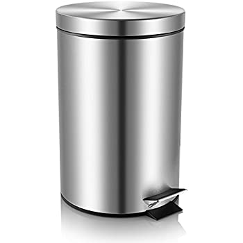 stainless steel kitchen trash can stainless steel trash can step trash and 12040