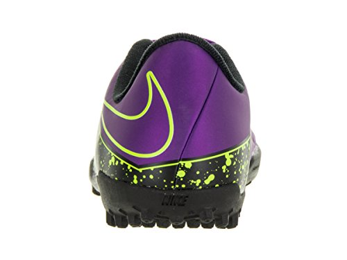 Nike Jr Hypervenom Phelon II TF - Botas para niño Morado / Negro / Verde (Hyper Grape / Hypr Grape-Blk-Vlt-)