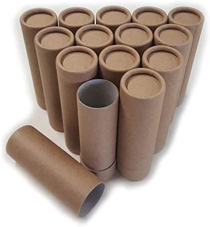 Empty Cardboard Deodorant Containers – Push-up Style, top-Fill, Reusable and Biodegradable Style 2 14
