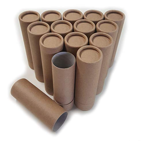 Empty Cardboard Deodorant Containers - Push-up Style, top-Fill, Reusable and Biodegradable Style #2 ()