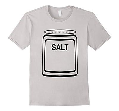 Salt Shaker Halloween Costume T-Shirt for Couples