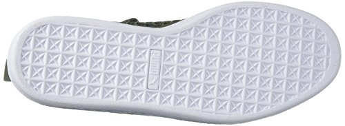 Olive Night US 9 Sneaker M Basket White 5 Classic PUMA Men's Netfit BwTXqqFY