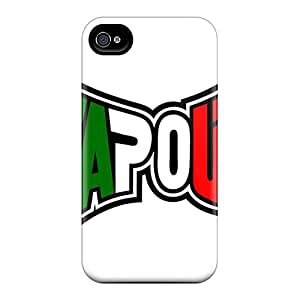 For Archerfashion2000 Iphone Protective Cases, High Quality For Iphone 4/4s Tapout Skin Cases Covers