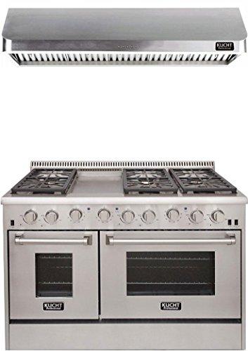 Kucht Professional Series 2-Piece Stainless Steel Kitchen Pa