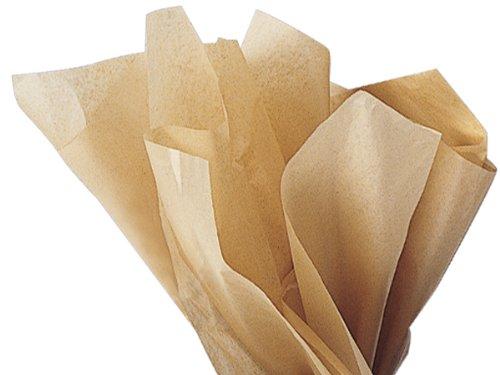 Kraft Tissue Paper 15 Inch X 20 Inch - 100 Sheets