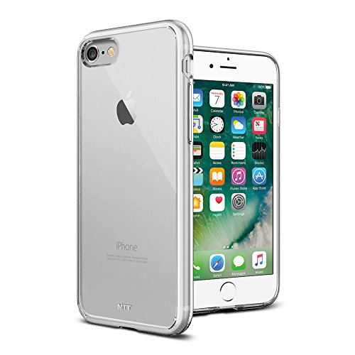 Apple iPhone 7 shock absorption Crystal clear case by MTT