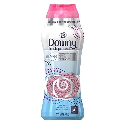 Downy Fresh Protect with with Febreze, In-Wash Scent Beads, April Fresh, 19.5 oz