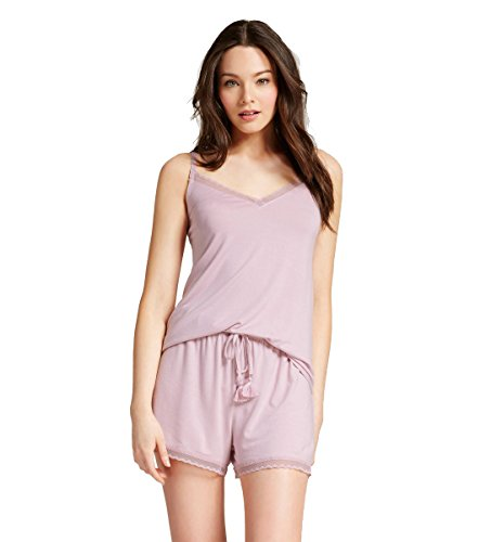 - Gilligan & O'Malley Women's Shorts Pajama Set Total Comfort (Medium, Bubble Bath Pink)