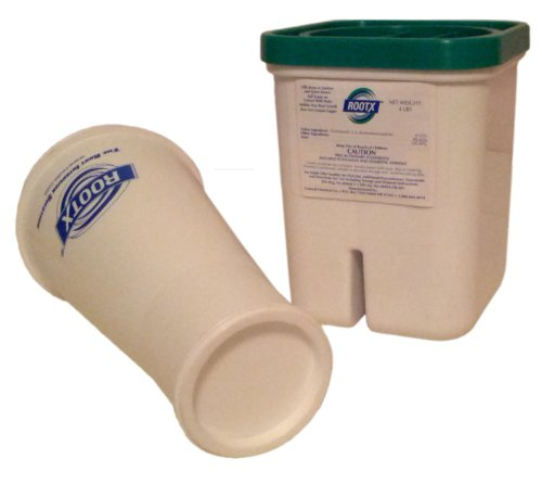 ROOTX - The Root Intrusion Solution Kit - 4 Pound Container Plus Funnel - Bundle 2 -