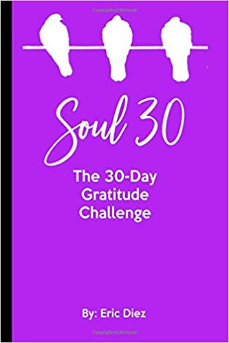 Soul 30 The 30 Day Gratitude Challenge 6 X 9 In Thirty Day