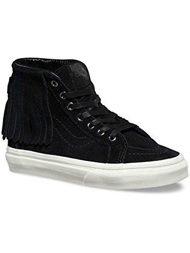 - Vans Kids SK8-Hi Moc Suede Black Sneaker 3M