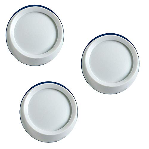 Leviton 26115-W Knobs For Trimatron Rotary Devices, White, 3 PACK (Dimmer Switch Rotary)
