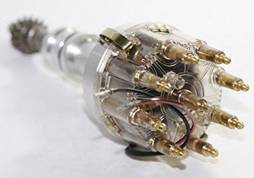 Pro Billet Ignition Distributor fit Ford 351C 429 460 Cleveland V8 (Ford 351c 460 Pro Billet)