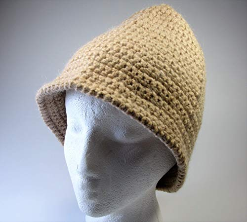 (Alpaca Hats - Crochet by Denise - fun, fashionable, warm hats for any occasion - Custom Colors Available )