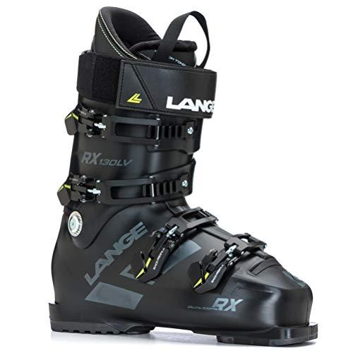 (Lange RX 130 LV Ski Boots - 27.5/Black-Grey)