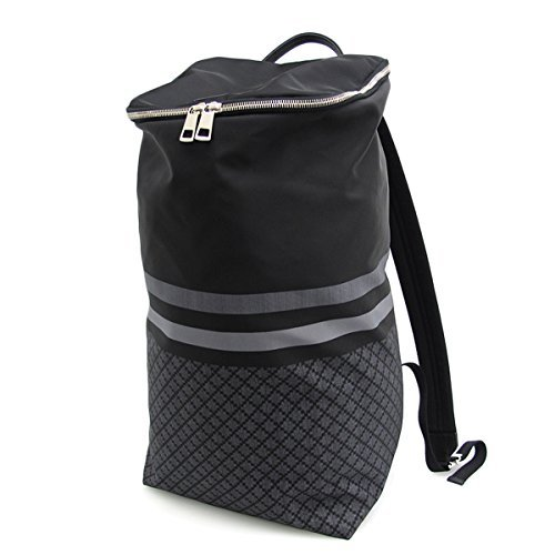Gucci Diamante Web Black Nylon Backpack XL 365284