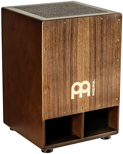 Meinl Percussion Jumbo Bass Subwoofer Cajon with Internal Snares-NOT Made in China-Walnut Playing Surface, 2-Year Warranty, (SUBCAJ5WN)