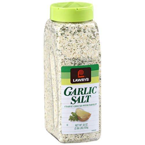 McCormick Lawrys Garlic Salt, Coarse Ground with Parsley,...