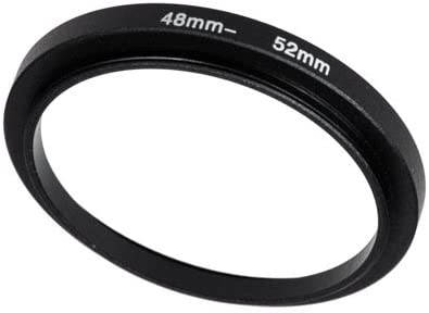 37-58 mm Anodized Black Aluminum 37mm-58mm Fotodiox Metal Step Up Ring Filter Adapter