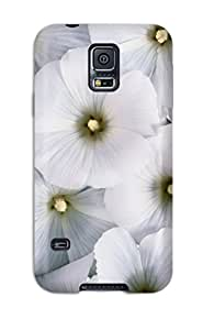 Shock-dirt Proof Flower Case Cover For Galaxy S5